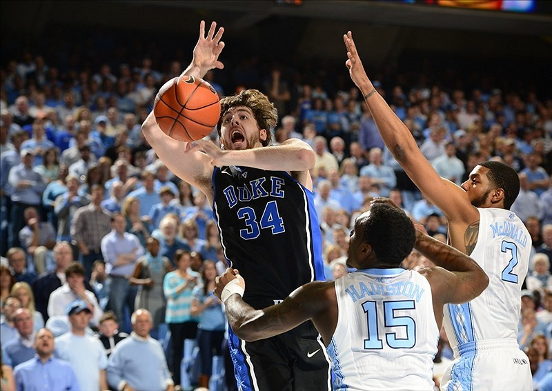 FINAL: No. 3 Duke 69, North Carolina 53 The Blue Devils scored the first 14 points of the game and never trailed.