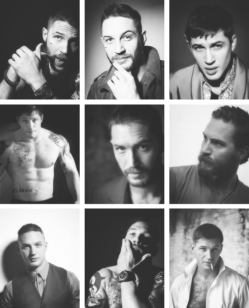 Tom Hardy @ photoshoot