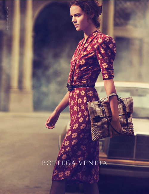 stormtrooperfashion:  Freja Beha Erichsen by Peter Lindbergh for the Bottega Veneta Spring 2013 Campaign   Beautiful. :)
