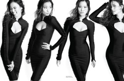 fuckyeahhotactress:  Jamie Chung photographed by Diana King for Audrey Magazine