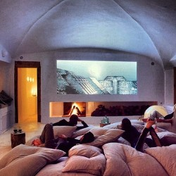 richkidsofinstagram:  The perfect room #chilling #friends #movie #tired #vegetables by mariannagoulandris