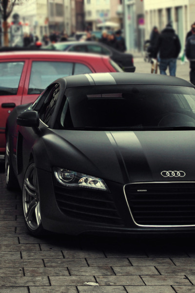 setbabiesonfire:  Matte black with a gloss stripe? I can dig it.