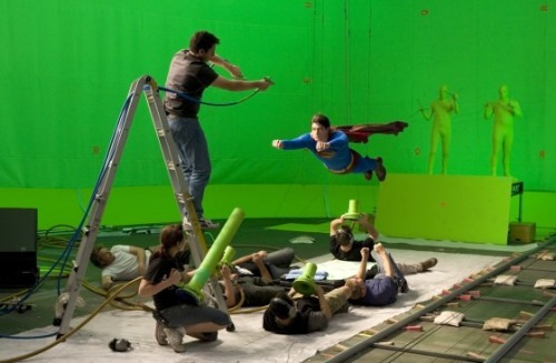 beforevfx:  Superman Returns