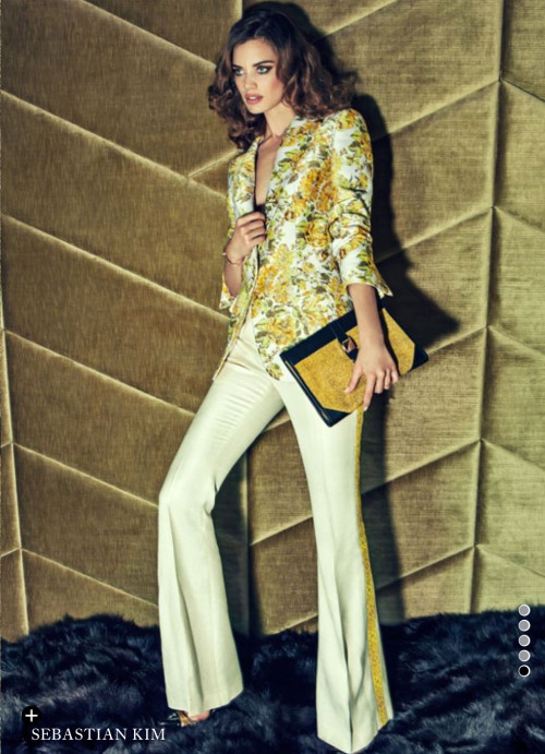 """Who Wears the Trousers?"" (+) Harper's Bazaar UK, January 2013 photographer: Sebastian Kim Rianne Ten Haken"