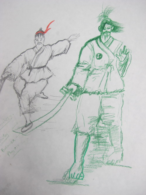 Samurai doodle of the week!Send your doodles to cap@collegeforcreativestudies.edu and keep an eye out to see your work on our blog!