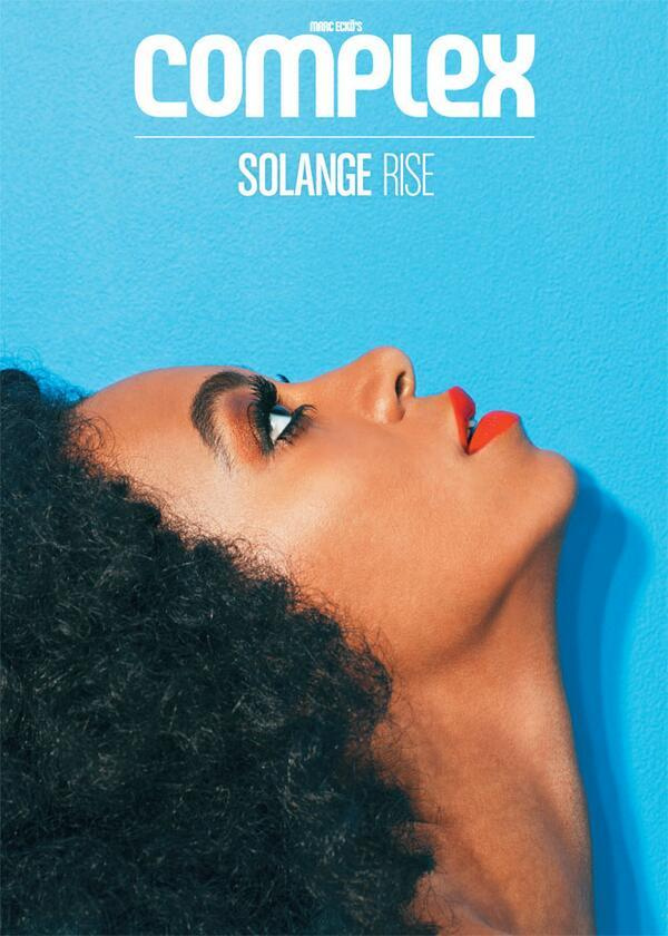 Solange Knowles - Solange Rises: The stunning @SolangeKnowles on our June/July 2013 cover!    ://t.c