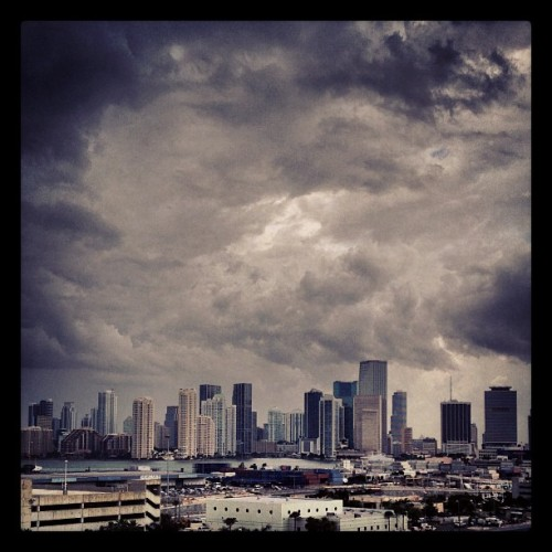I love you Miami! But I'm gettin da eff outta here. Storm or no storm!
