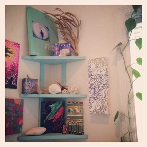 In the #corner.  #follybeach #home #art