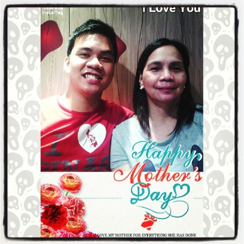 Dahil may new theme. #instamag #mothersday