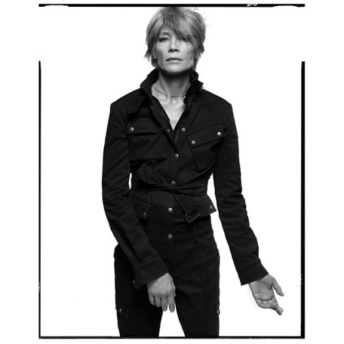 inezandvinoodh:  Françoise Hardy - Vogue Paris, 2002  Lot like Richard Avedon.