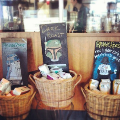 Greatest #Starbucks Ever. #starwars