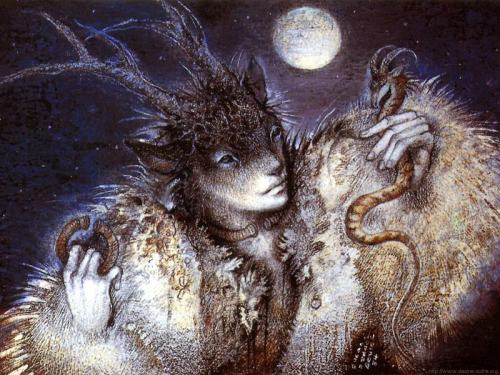mythicmourning:  Cernnunos, Great Horned god of wild animals, woodlands, masculinity, sexuality, and fertility. A popular god among pagans/witches, espeically those following a Celtic path.