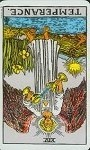 temperance reversed tarot card meanings