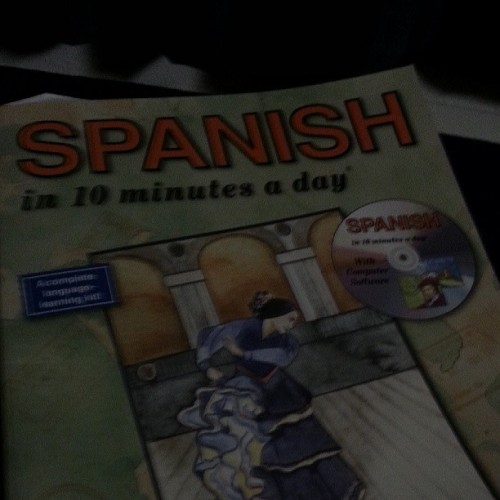 Dónde está la baño? Working hard to learn español. #Spanish #happy #learning