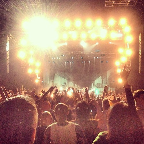 All the people, so many people … (at blur Live in Hong Kong)