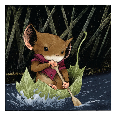 Mouse Guard, by David Petersen.