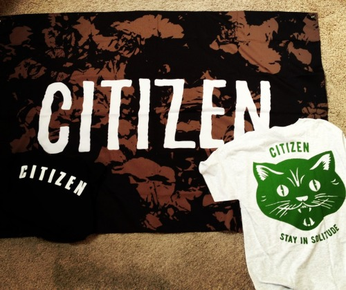 fr0ntiers:  My new Citizen merch came today!