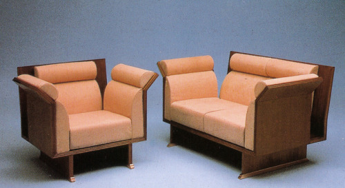 Ugo La Pietra, Pretenziosa Armchair and Sofa, for Busnelli, Circa 1983