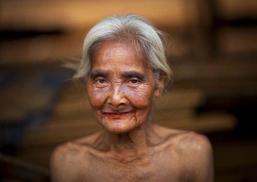 Laos Madam Am, 68 years old. Eric Laffourgue