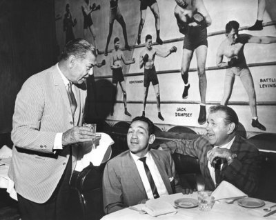#birthdays, #jack_dempsey, #black_and_white, #nytimes, #vintage, #photography, #the_new_york_times, #boxing_champions, #1965, #1960s, #willie_pep, #mickey_walker