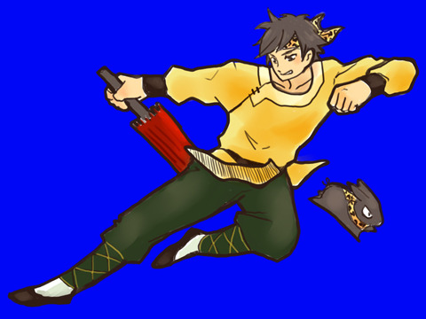 90's Anime Week, day 3: Ryoga Hibiki from Ranma 1/2 Oh man, I remember checking every day at the comic book shop near school to see if they had any new rental tapes for this series.  Ranma is what got me started drawing in anime style.