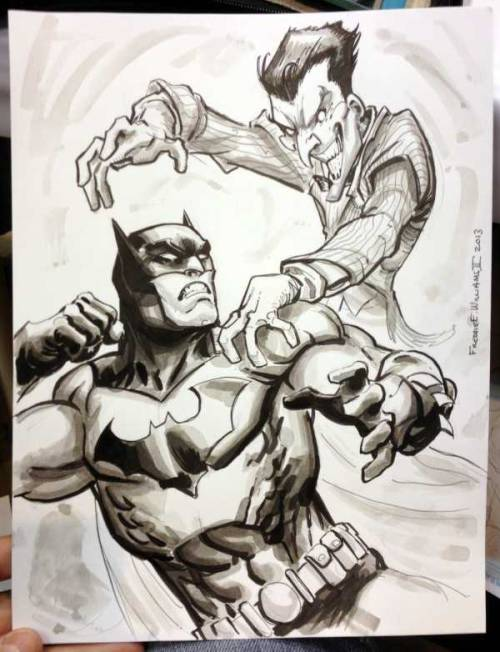 batman-blog:  Art: Freddie Williams II http://batman-blog.com/