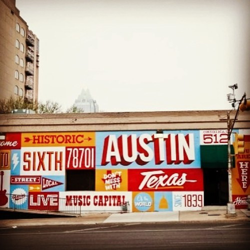 "Is about that #time again @sxsw #sxsw y'all ain't ready"" #SouthSide #Austin #Texas #TX #Welcome #LiveMusicCapitol #512 #trippy #allnightlong #music #bands #rap #country #rock #alternative #everykind #party #instagram #world #thenation in one #city"