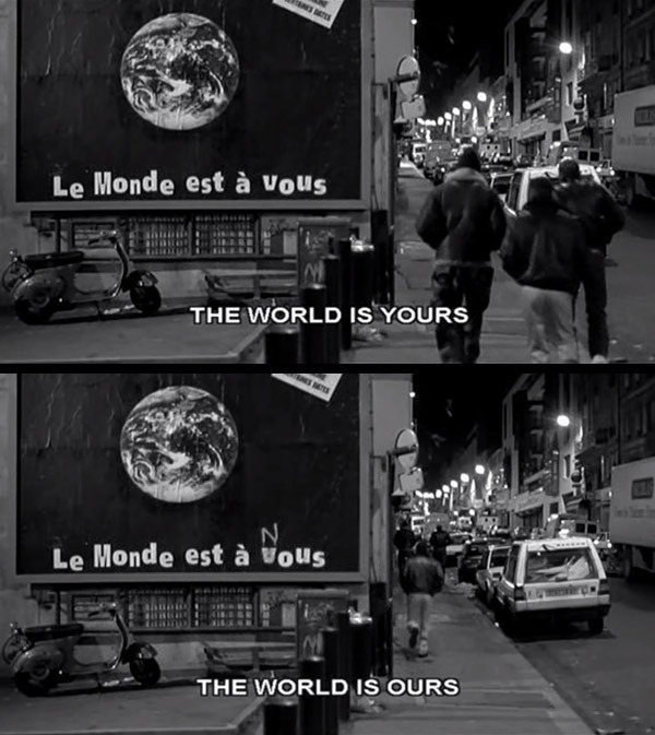 dat-sick:  From the French Movie, La Haine.