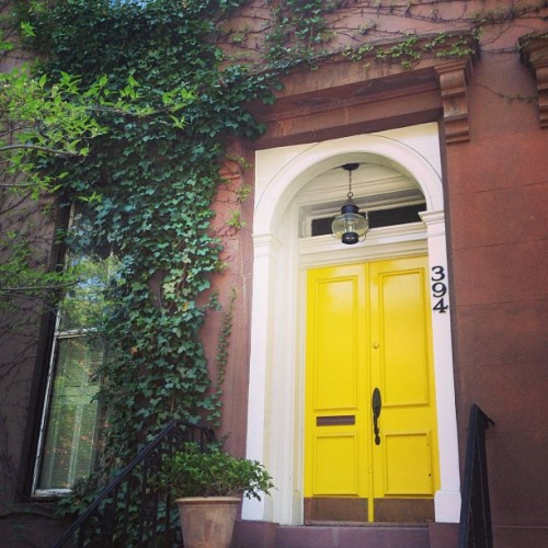 Springtime door (at Boerum Hill)