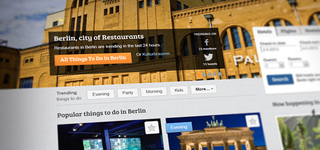 Tourist suggestions crowdsourced from social media trends in real time Netherlands-based WaarSchijntdeZonWel.nl has already provided a way for tourists to book last minute holidays based on the current weather. Now another Dutch platform – Suggestme – is doing the same for travelers looking for destinations that are popular on social media at the time and enables users to compile their own custom guide. READ MORE…