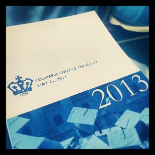05212012 CC #2013 Class Day! :) // #ColumbiaUniversity #Columbia #College #Graduation  (at Columbia University)