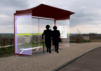 Solar Bus Shelters | EarthTechling With an abundance of sunshine, it's no wonder that some of the most innovative and successful solar power installations are found in California. Recently, the City of Perris, located in green energy-friendly Riverside County, announced that it would use solar power to transform its ordinary bus stops into miniature power plants.