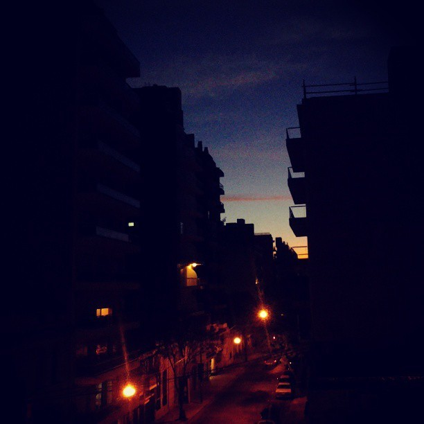 #ConnectedNight #Rosario #Argentina #photography #MrD413 #sunset #city #lights