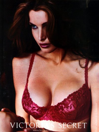 stephanie-seymour:  Stephanie SeymourVictoria's Secret, mid 90s