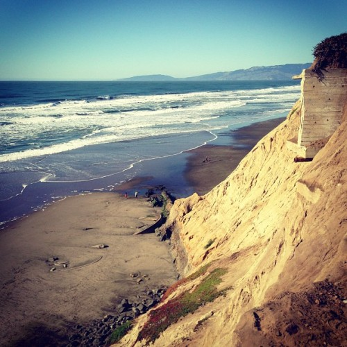 A bit of beach. (at Fort Funston)