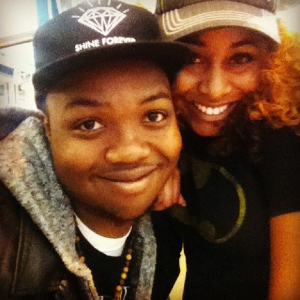 #Me && my homie @kriscarter23 at #grandopening of the #new #metrotwo  (at Security Square Mall)