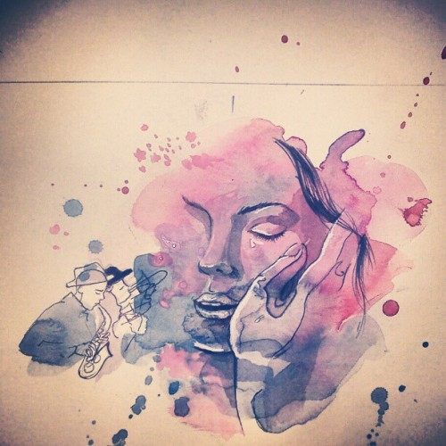 #drawing #art #watercolor #sketch