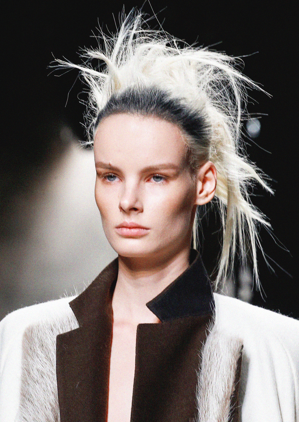 irene hiemstra at haider ackermann fall 2013