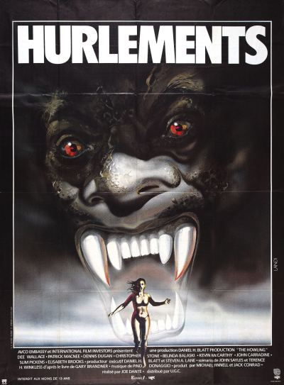 Foreign poster for The Howling, 1981
