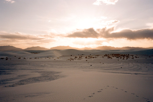 bryant:  White Sands, New Mexico.