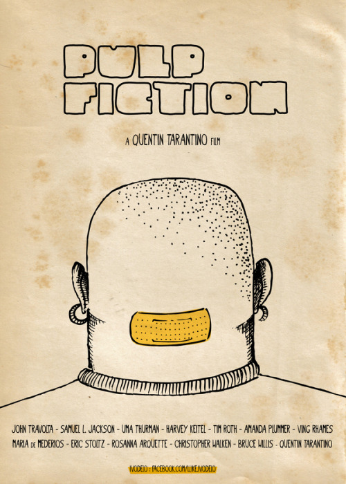 minimalmovieposters:  Pulp Fiction by Ivan de Lorenzo