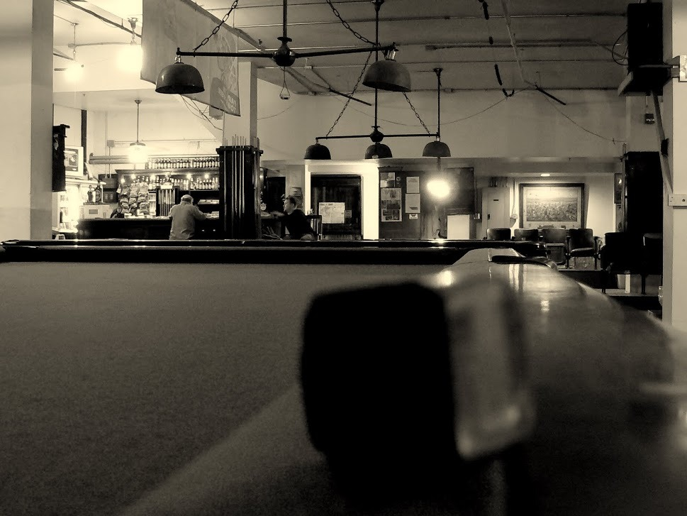 This is the Metropolitan Billiard Parlor. It is beneath the Metropolitan Theater. Although I no longer go, I believe it is still there and still being frequented by all sorts of strange people.