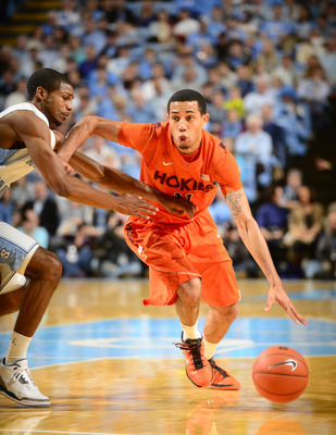 Erick Green scored 28 points today against GT, but the Hokies lost, 64-54. Visit TechHoops.com for more.