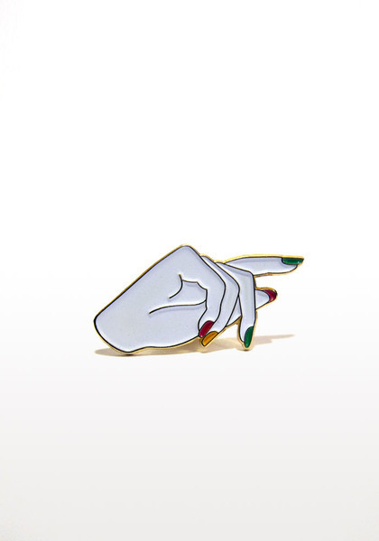 dtybywl:  'Give Her A Hand' Pin | Rad Nails