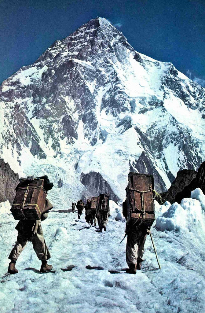 aurorae:  way to K2, Pakistan, 1979, NG (by nightwindsent)