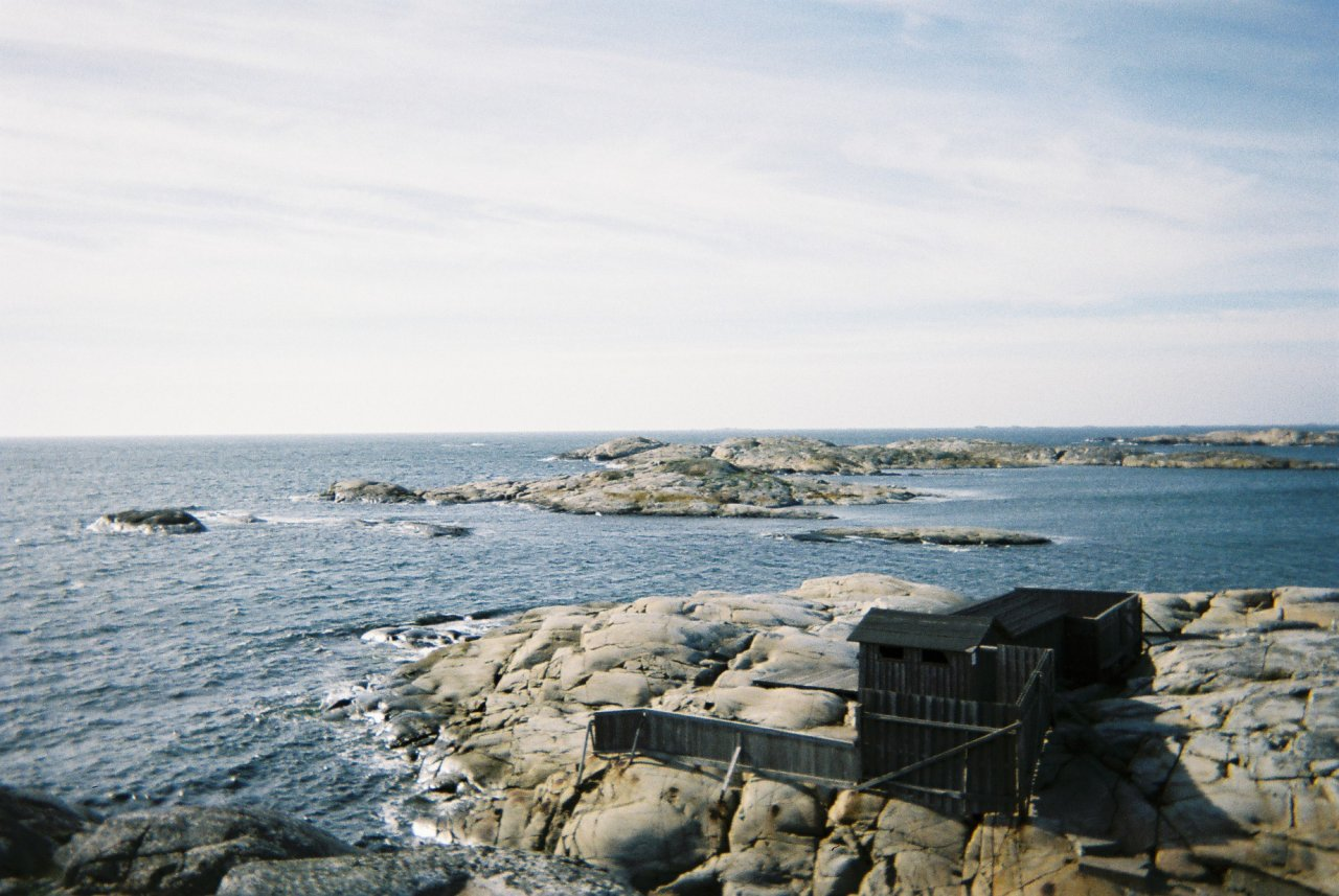 The sea baths at Marstrandsön