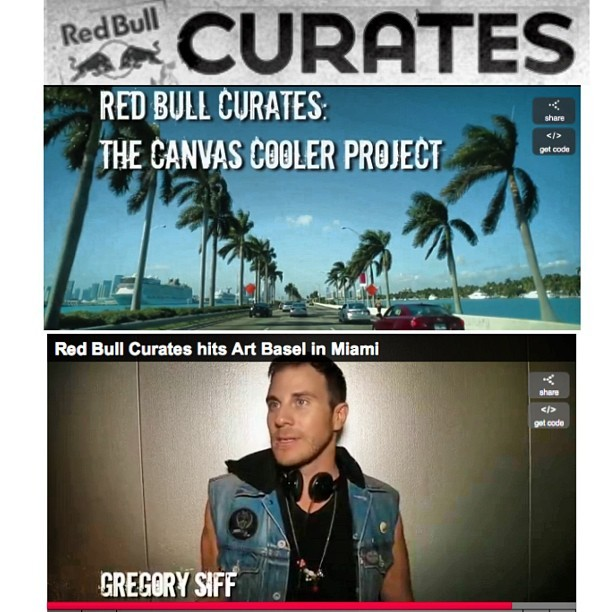 Red Bull Curates Miami: The Canvas Cooler Project arrived at the 2012 SCOPE Art Fair during Art Basel week in Miami in grand fashion, giving 10 emerging artists the chance to show off their works in front of an international crowd of art world insiders. Check out some of the highlights from the week and get a peek behind the scenes of one of the world's biggest art exhibitions. Video by Robert Christian Malmberg http://www.redbullusa.com/cs/Satellite/en_US/Video/red-bull-curates-miami-021243294958979 @redbulllax @redbull @redbullmia @scopeartshow @termofart @theartsfund @artsfund @toddpalmerton @billyfranchey @tommygun_ @artbasel @obeyclothing @obeyclothing_ @levis #scopeartshow #redbullcurates #gratitude #bestmemories