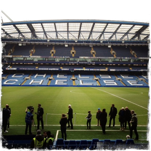 Live from Stamford Bridge…