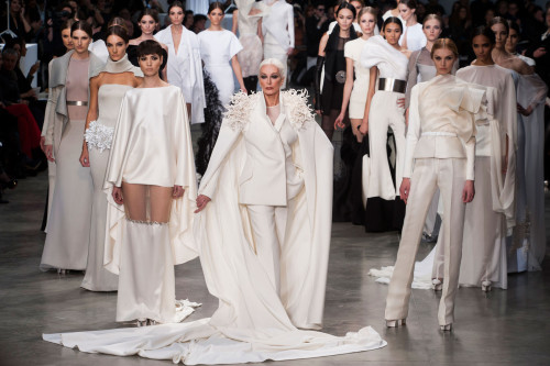 hautekills:  Finale at Stephane Rolland haute couture s/s 2013
