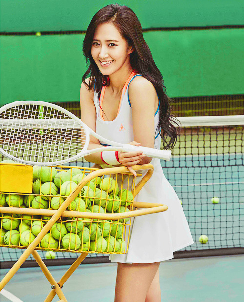 yuri-aholic:  Wanna play tennis today?
